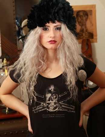THE CONTEMPORARY STEAMPUNK CABINET all rights reserved  steampunk t-shirt by steampunk agentur
